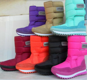 Fashion Women's Girls Winter Warm Lining Snow Joggers Boots snow boot(10 Colors)
