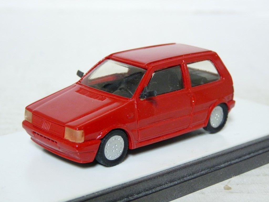 Heco 1 43 1985 FIAT UNO TURBO résine fait main  modèle de voiture  À ne pas manquer!