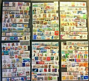 Germany Stamp Collection Used - 450 Different Commemorative Stamps per Lot