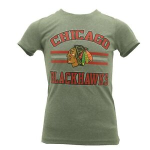 Chicago-Blackhawks-official-NHL-Youth-Kids-Size-Athletic-T-shirt-New-With-Tags