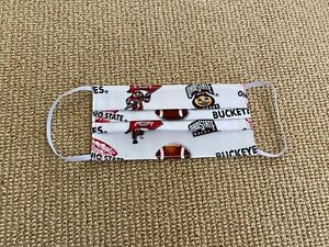 The-Ohio-State-University-Buckeyes-Handmade-100-Cotton-Face-Mask-New