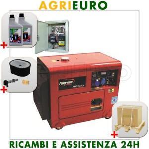Generatore Di Corrente Con Avviamento Automatico Of Generatore Di Corrente Diesel Powermate Pmd5000 Con Quadro