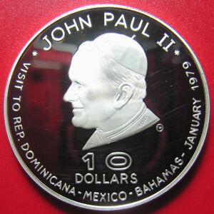 1978-1979-DOMINICA-10-SILVER-PROOF-POPE-JOHN-PAUL-II-VISIT-WALLET-COA-MNT-3-450