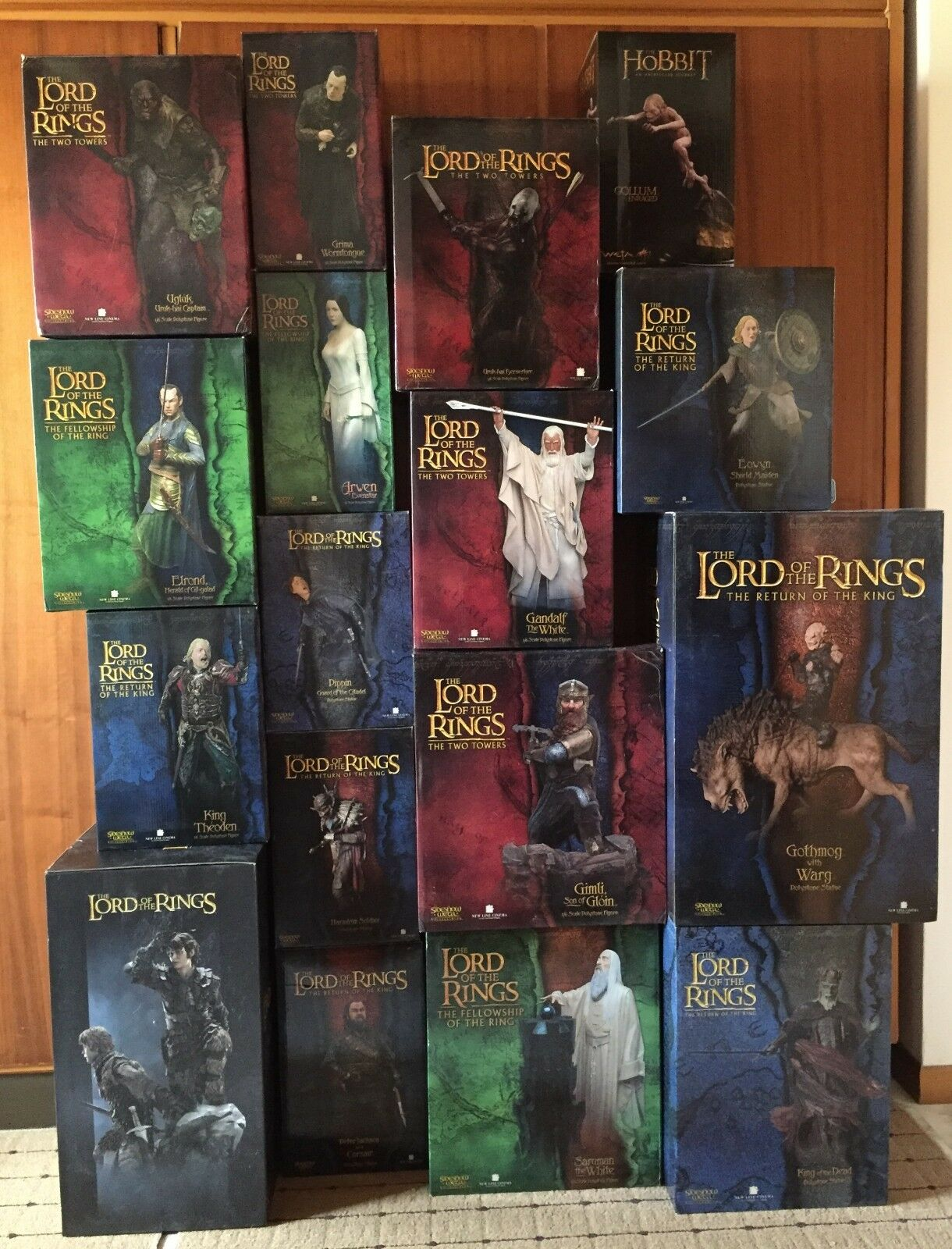 STATUE SIDESHOW WETA  LORD OF THE RINGS  1 6 collection ASMUS TOYS art figures