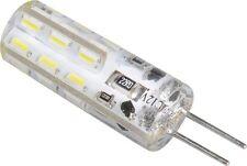 12V 2W G4 LED Light 2700-3300K SMD Cabinet Camper Bulb Globe Boat Home Garden