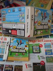 Nintendo-DS-New-Super-Mario-Bros-TOP-2D-amp-1ST-EDITION-COMPLETE-Fr