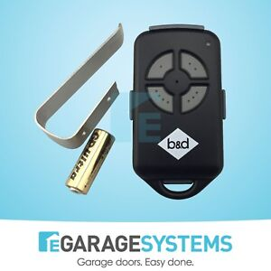 Garage-Door-Remote-Control-Roller-motor-B-amp-D-BND-PTX4-CAD-062162-059116-4333A