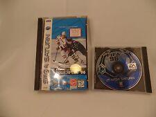 Sega Saturn Video Game NHL Powerplay 1996 & FIFA Soccer
