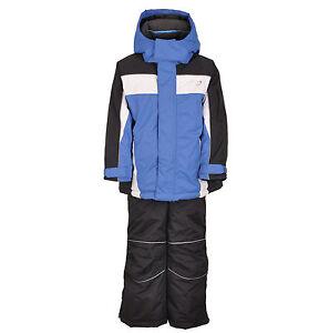 Kids Children Boys Ski Snow Suit Jacket Pants Blue Size 1-10 Water ... 8017fb343