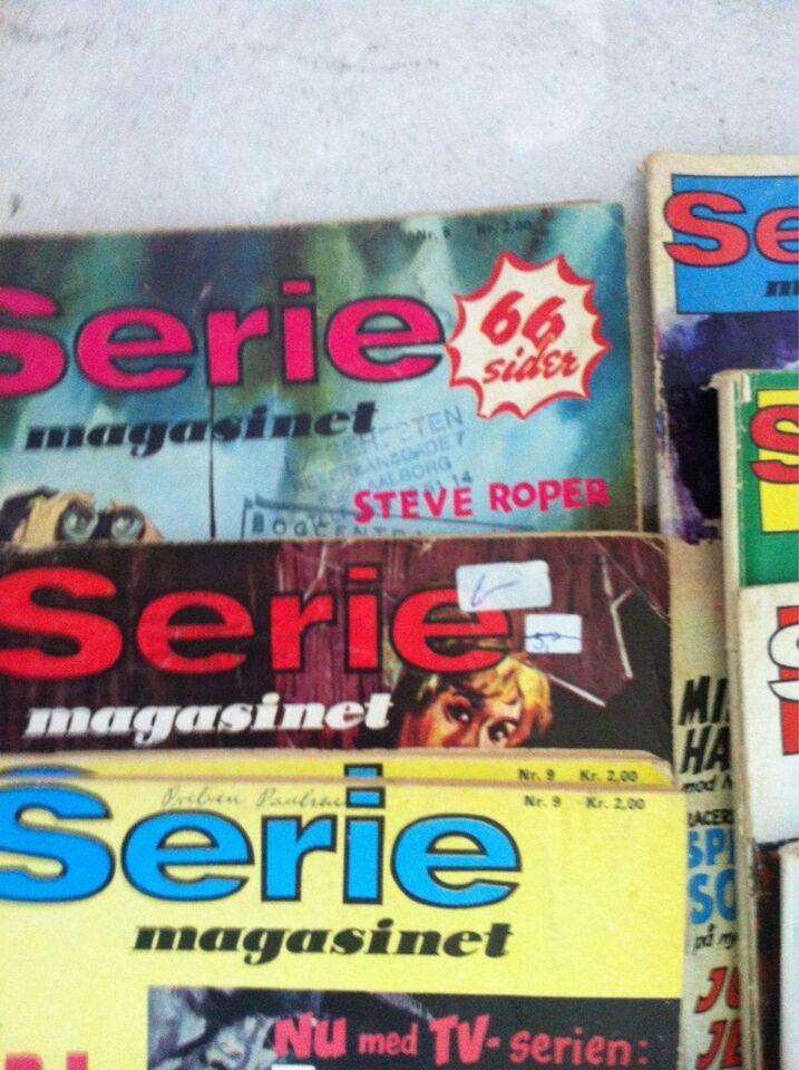 Serie magasinet, Tegneserie