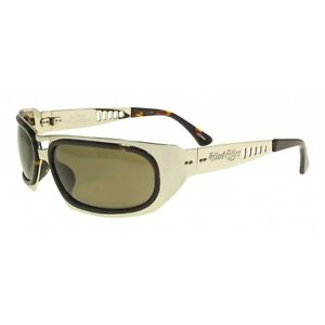 95f26258ac Details about Black Flys Hi Fly Sunglasses - Gold - Brown Polarized - New