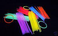400 Knicklichter 200 X 5 Mm Farb-mix Oder Einfarbig Leuchtstäbe Glow Sticks