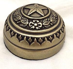 Texas-Capitol-Door-Paperweight-Antique-Brass