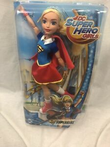 "DC Super Hero Girls Supergirl Figure Mattel 12/"" Action Doll Krypton Comic Powers"