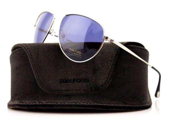 a1d8e9900f40b RARE TOM FORD William JAMES BOND 007 Blue Lens Sunglasses TF 207 FT 0207 17V