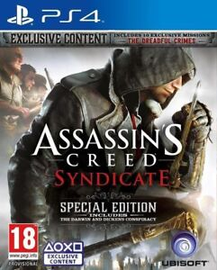 Assassins-Creed-Syndicate-Special-Edition-PS4-MINT-FAST-amp-QUICK-POST-FREE
