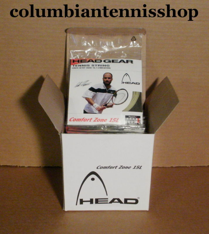 8 Eight  New Head Comfort Zone 15L Tennis String coils easy on the arm
