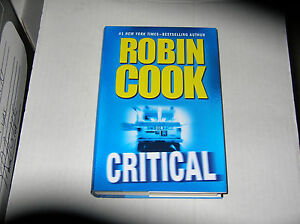Critical-by-Robin-Cook-2007-SIGNED-1st-1st