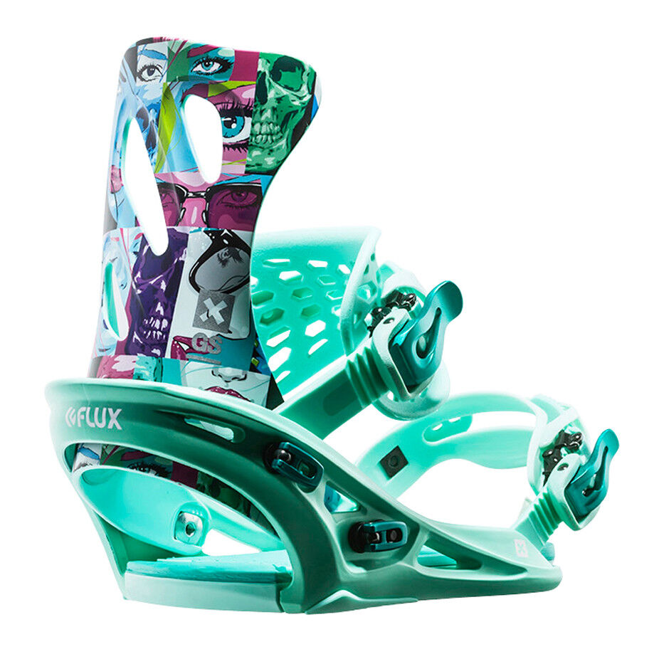 2017 gs fFaible femmes snowboard bindings bleu xs uk 2 - 4 james haunt collab