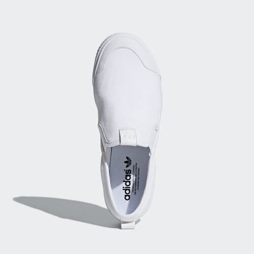 Adidas CQ3103 Nizza Slip on Casual shoes white Sneakers