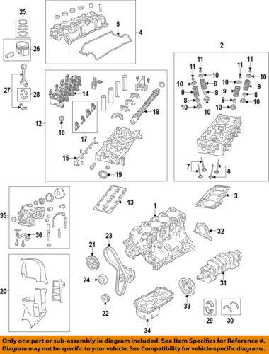 FIAT OEM 12-15 500-Exhaust Camshaft Cam 4892639AB