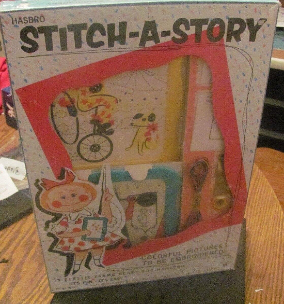 Vintage Vintage Vintage Hasbro Stitch-A-Story NEW SEALED 1960s 7b2410