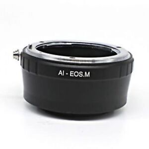 Nikon-F-Mount-AI-Lens-to-Canon-EOS-M-EF-M-Mount-Mirrorless-Kamera-Adapter-Ring