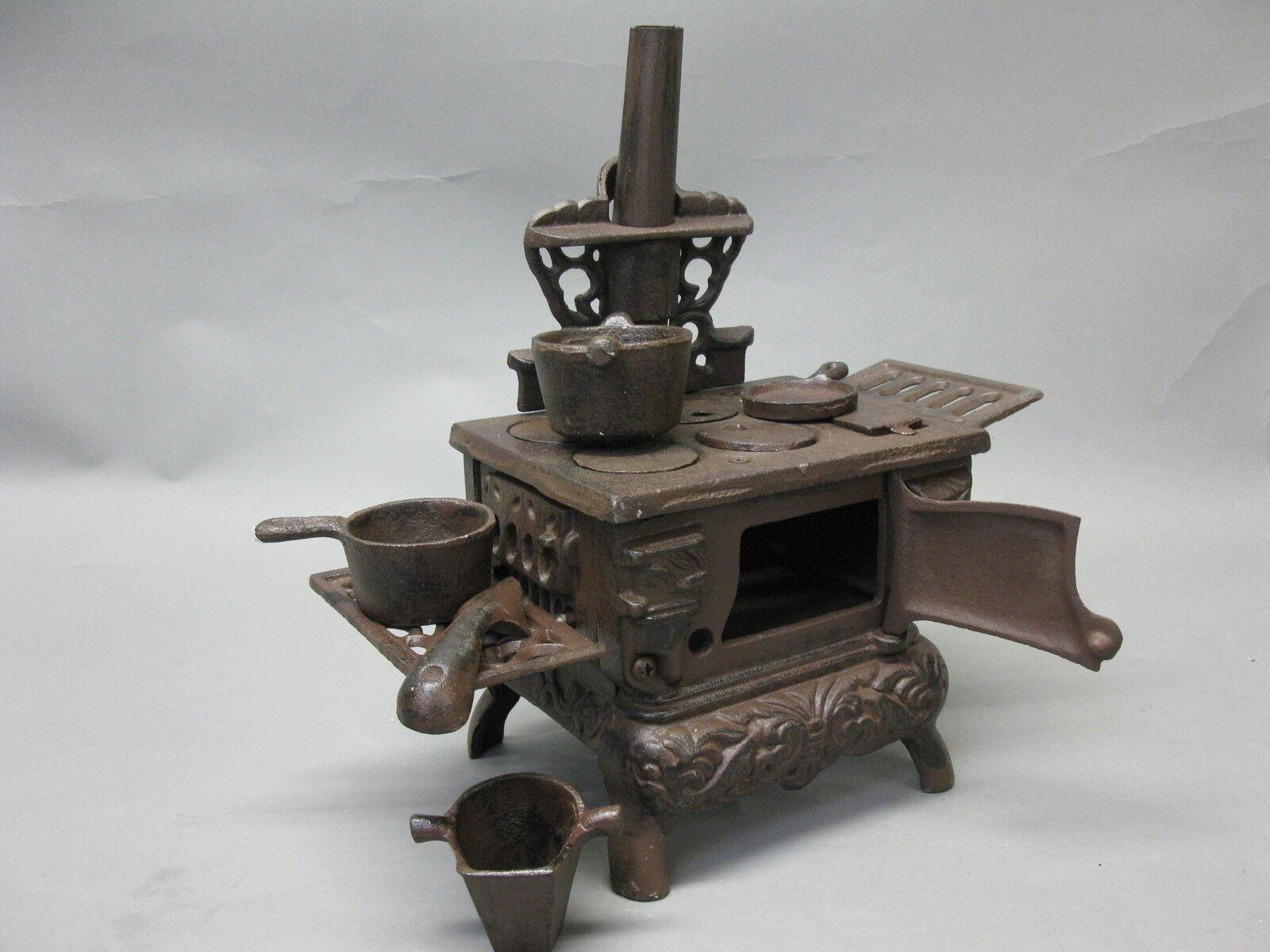 Vintage Doll Stove Dolls Decor Oven Kitchen Witch 25 cm Cast Iron 4,5 KG