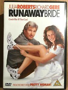 Runaway-Bride-DVD-1999-Romcom-Comedy-with-Julia-Roberts-and-Richard-Gere