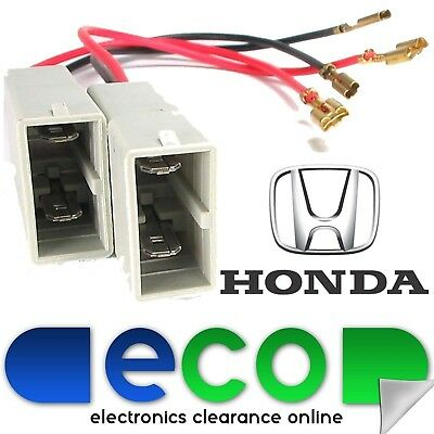 Honda Civic 2000-05 EP1 EP2 EP3 Rear Door Car Speaker Plug Lead Wire Connectors
