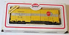 Heavy Weight Model Power 7973 Timken Roller Freight 46007 HO Scale Box w/ Door