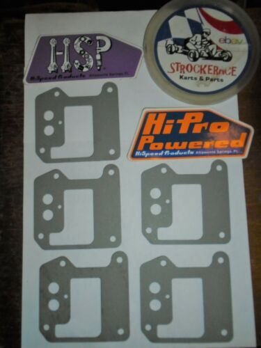 VINTAGE GO KART NOS RACING McCULLOCH INTAKE GASKET CART CHAIN SAW PART X5