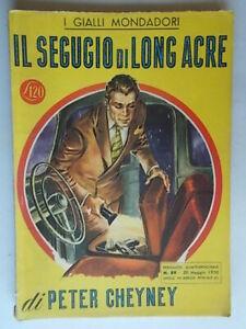 Il-segugio-di-Long-Acre-Cheyney-Peter-Mondadori-1950-giallo-89-Trant-Stout-Wolfe