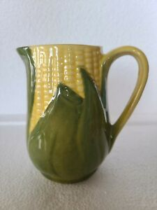 """Vintage SHAWNEE Corn King Pottery Creamer Pitcher #70 Apprx 5"""" Tall"""