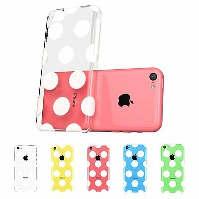 iPhone 5C Cute Patterns Polka Dots Back Case  Cover  for iPhone 5C
