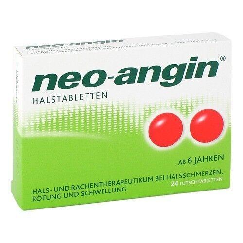 NEO ANGIN Halstabletten 24St PZN 00826562