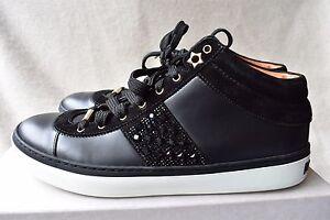 Jimmy Choo Woman Bells Leather Sneakers White Size 39.5 Jimmy Choo London Q8z1Q