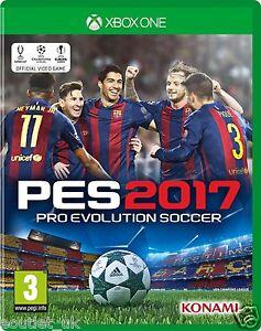 PES 2017 Xbox One Pro Evo Soccer Evolution BRAND NEW & SEALED 4012927111550