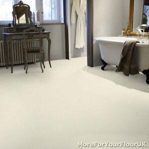 Plain White Vinyl Flooring Non Slip Quality Lino 4m Ebay