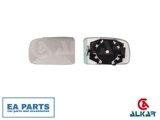 Mirror Glass, outside mirror for FIAT ALKAR 6431014 fits Left