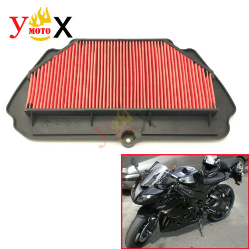 Air Cleaner Intake Filter Filters For Kawasaki ZX600R Ninja ZX-6R ZX6R 2009-2016