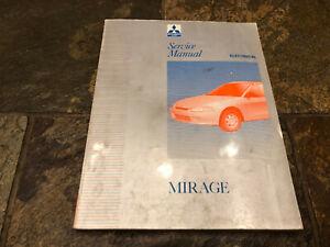 1997 Mitsubishi Mirage Electrical Wiring Diagrams Service ...