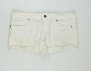 Womens-Denim-Co-White-Shorts-Size-10-L1