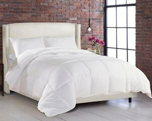 Hypoallergenic Comforter Goose Down Alternative Soft Duvet Cover Full Queen King