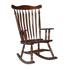 Rocking Chair Solid Wood Cherry - International Concepts