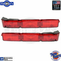 1966 Caprice Tail Light Lamp Lens Taillight - Made In Usa - Pair
