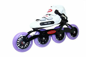 Inline Speed Skates TruRev w/ 105mm or 110mm wheels Inlineskating-Artikel Size 10.5