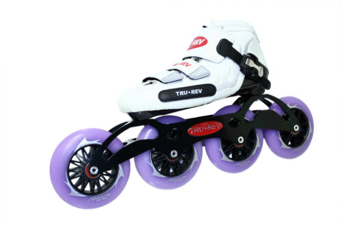 SIZE 7.5 ceramic bearings 105mm wheels Inline Speed Skate by Trurev