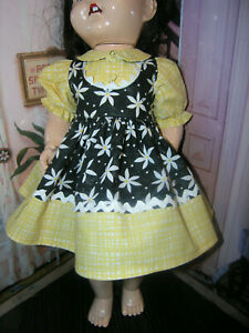 2-pc-Dress-Bloomer-Set-Doll-clothes-fits-23-034-Ideal-Saucy-Walker-or-Pedigree