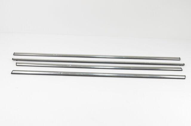opel vauxhall zafira b 1.9 cdti window chrome moulding trim set